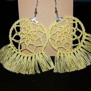 ❤HANDMADE❤crochet earrings